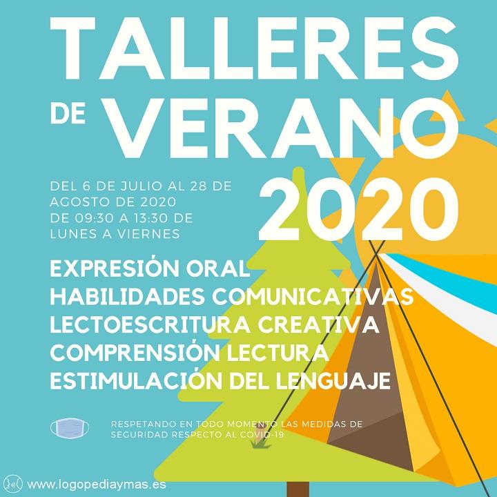 talleres verano 2020