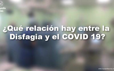 Relación de disfagia y COVID 19